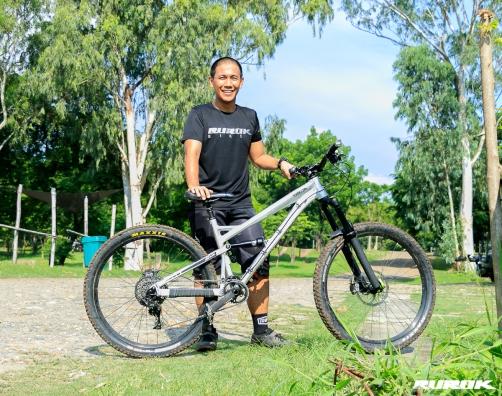 Julien with his Rurok Cordillera